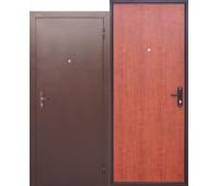 Металлическая дверь Стройгост 5 РФ Рустикальный дуб